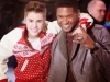 thumbs bieber usher Justin Bieber bilder