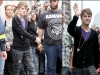 thumbs bieber vinkade fans paris Justin Bieber bilder