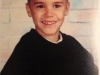thumbs justin bieber barn Justin som barn