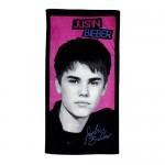 justin bieber handduk foto autograf 150x150 JB prylar: väskor, muggar, sängkläder, knappar mm