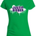 justin bieber tshirt paint 150x150 Justin Bieber T Shirts