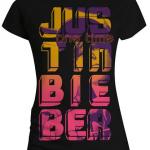 justin bieber tshirt stripes 150x150 Justin Bieber T Shirts