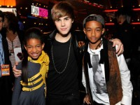 Justin Bieber, Willow Smith och Jaden Smith