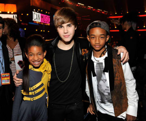 justin bieber willow jaden smith Justin tackar Storbritannien, Willow och Jaden Smith  nu: Tyskland