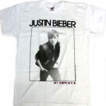 my world tshirt vit 150x150 Justin Bieber T Shirts