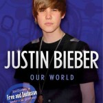 our world 150x150 Böcker om Justin Bieber