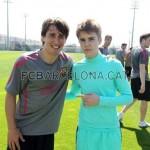 justin bieber fotboll barcelona 06 150x150 Justin spelar fotboll med Barcelona [bilder & videor]