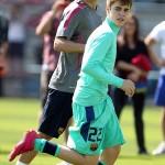 justin bieber fotboll barcelona 10 150x150 Fler bilder: Justin Bieber spelar fotboll med Barcelona