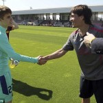 justin bieber fotboll barcelona 12 150x150 Fler bilder: Justin Bieber spelar fotboll med Barcelona