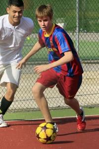 justin bieber fotboll madrid 15 200x300 Fler bilder på när Justin Bieber spelar fotboll i Madrid