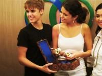 Justin och Selena på Bali