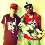 justin bieber chris brown hund 150x150 Bilder på Justin Bieber
