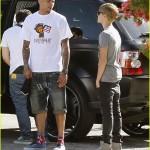 justin bieber chris brown studio 01 150x150 Justin & Chris Brown jobbar tillsammans igen