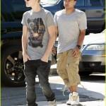 justin bieber chris brown studio 02 150x150 Justin & Chris Brown jobbar tillsammans igen