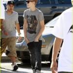 justin bieber chris brown studio 07 150x150 Justin & Chris Brown jobbar tillsammans igen