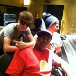 justin bieber chris brown studio 150x150 Bilder på Justin Bieber