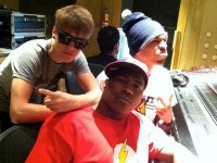 Justin &amp; Chris Brown i studion