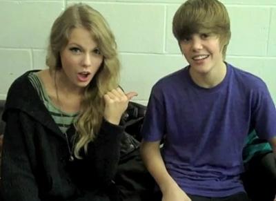 justin bieber taylor swift Taylor Swift gjorde en cover på Biebers Baby