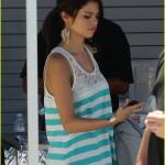 selena gomez bieber studio 07 150x150 Justin och Selena tillsammans vid studion
