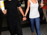 Bild på Justin Bieber och Selena Gomez i Philadelphia