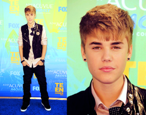 justin bieber teen choice awards 05 300x237 Info om Justins nya album Believe [video]