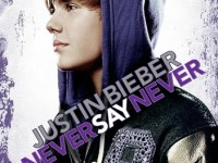 Justin Bieber Never Say Never DVD &amp; Blu-ray