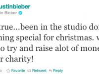 Justin Bieber gör julskiva