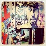 justin bieber skateboard tupac 150x150 Instagram bilder på Justin Bieber från senaste månaden