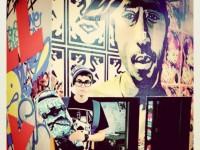 Instagram-bild på Justin Bieber med skateboard