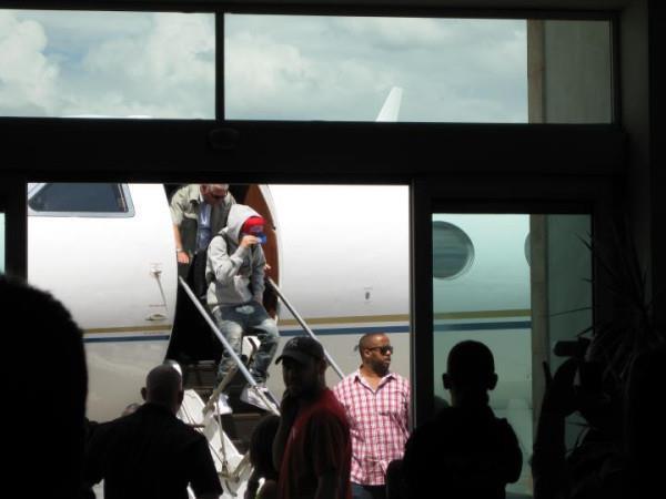justin bieber monterrey mexico Justin Bieber anländer till Monterrey, Mexico
