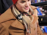 Justin Bieber nyårsafton på Times Square i New York