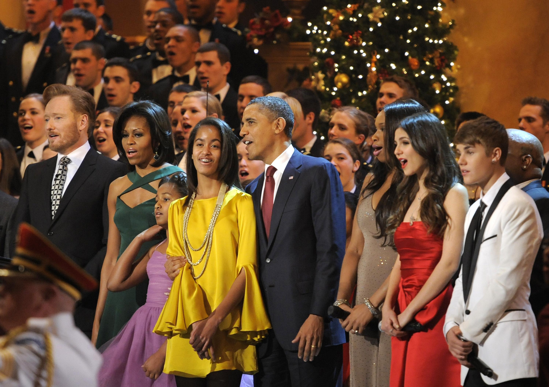 justin bieber upptrader obama 12 Justin Bieber uppträder för Obama