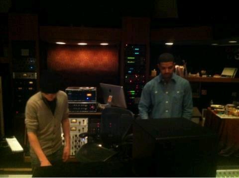 justin bieber and drake studio Justin jobbar på #Believe med Drake
