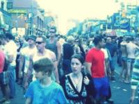 Bild på Justin & Pattie @ Gay Pride i Toronto