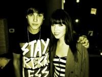 Bild på Justin och Carly Rae Jepson
