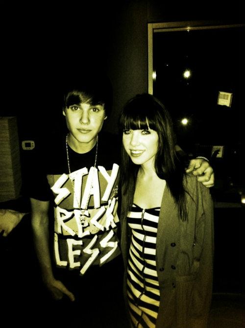 justin carly rae jepson Carly Rae Jepsen har träffat Justin i studion [bild]