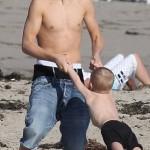 justin jaxon jazmyn jeremy pattie malibu beach 15 150x150 Justin, Jaxon, Jazmyn, Jeremy och Pattie @ Malibu Beach [bilder]