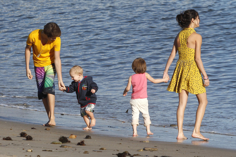justin selena jaxon jazmyn jeremy malibu beach 27 Justin, Jaxon, Jazmyn, Selena & Jeremy @Malibu Beach [bilder]