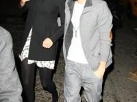 Justin och Selena på thairestaurang @ Manhattan