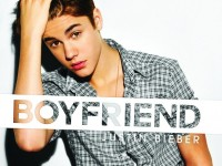 Omslagsbild på Justin Biebers nya singel Boyfriend