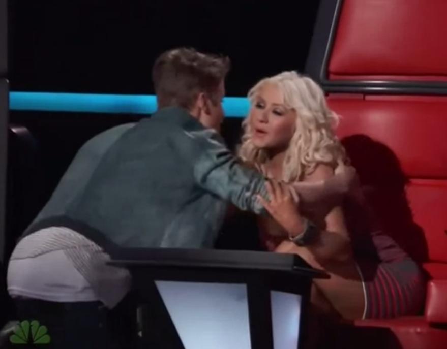 justin kramar christina aguilera Christina Aguilera ville inte ha puss och kram av Justin