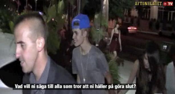 justin selena slut video Justin förnekar att han och Selena gjort slut