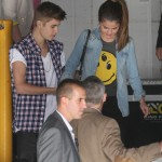  Justin & Selena besker Starship Childrens Hospital i Auckland
