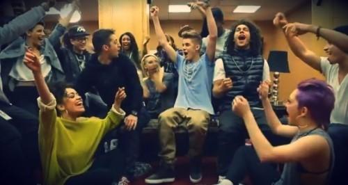 Justin vann bl a bästa manliga artist på MTV EMA