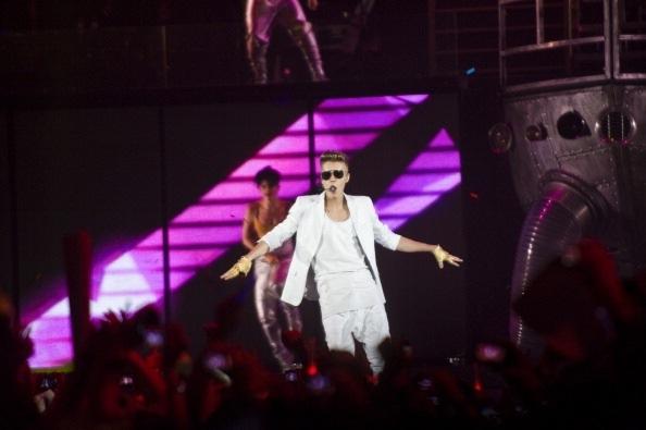 Bieber uppträder i Barcelona