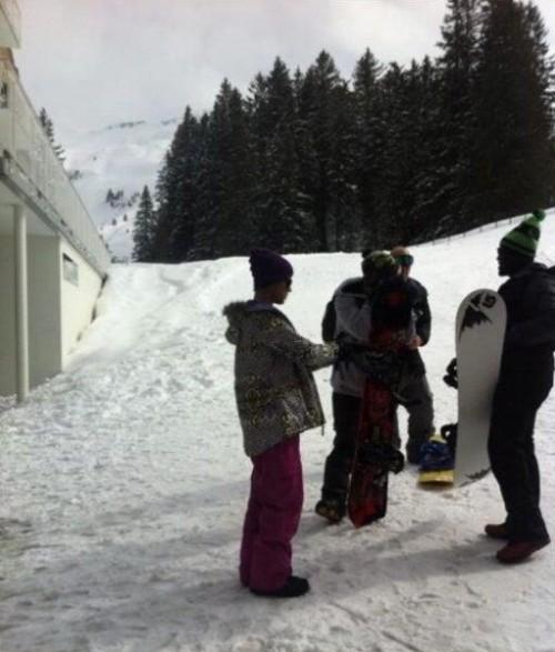 justin bieber snowboard alperna Justin snowboardar i Alperna [bilder]