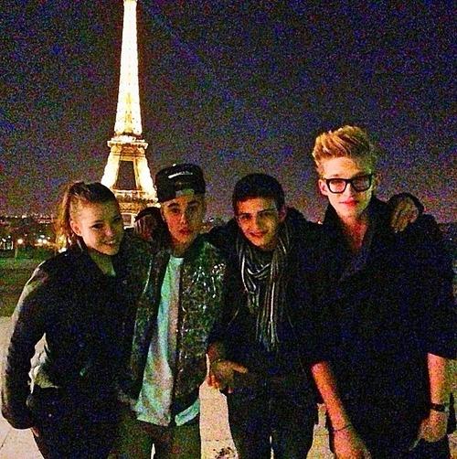 justinbieber codysimpson paris Justin och Cody Simpson i Paris