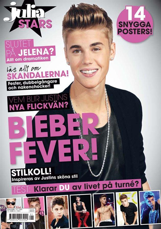 tidningen julia justin bieber Tävling: Vinn Justin Bieber tidning [Julia Stars]